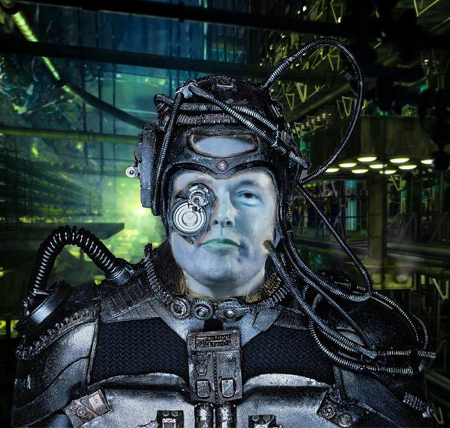 Elon Musk the Borg